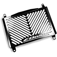 Protections radiateur Honda CB 650 F 14-16 Inox noir logo