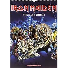 The Official Iron Maiden 2016 A3 Calendar