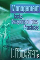Management Tasks, Responsibilities Practices (Drucker Series) Paperback