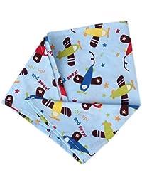 Wuiyepo Serviette de salive en coton pour bébé serviette