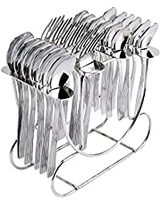 Shapes Lynex Cutlery Set of Spoons and Forks 25 Pcs. (BS)