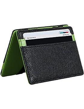 Cartera Mágica puerta moneda tarjetero de crédito bolsa Magic Wallet BillFold