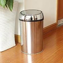 X&L Inicio inoxidable moderna sensor inteligente cubo de la basura doméstica creativa basura sensor electrónico 12L , 12l
