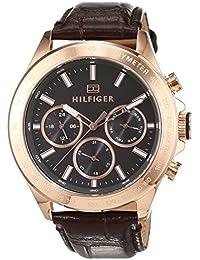 Tommy Hilfiger Herren-Armbanduhr Sophisticated Sport Analog Quarz Leder 1791225