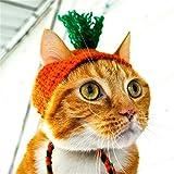 Pet OnlineCat hat Halloween vestidos estilo zanahoria pet hat,10 - 13cm