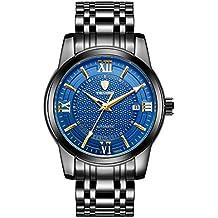 1e178cffc509 FITYLE TEVISE Reloj De Pulsera Mecánico Automático para Hombres Reloj De  Lujo con Luz Artificial Impermeable
