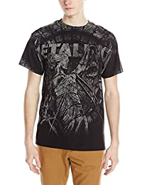 Metallica Stone Justice Homme Black T-Shirt