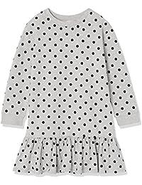 RED WAGON Mädchen Kleid mit Polka Dot-Muster