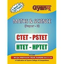 MATHS AND SCIENCE - CTET - PSTET - HTET - HPTET