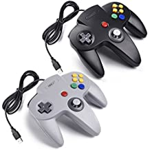 2x Retro 64-bit N64 USB Controller Gamepad Joystick, iNNEXT Classic Wired N64 USB PC Controladores de juegos para Windows Mac Raspberry