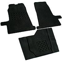 Bluesport Exzellente Fu/ßmatten Automatten Teppiche aus Velours in schwarz L FOR355