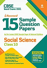 CBSE New Pattern 15 Sample Paper Social Science Class 10 for 2021 Exam with reduced Syllabus