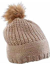 MYRTLE BEACH - bonnet à pompon fausse fourrure - MB7975 - mixte homme / femme