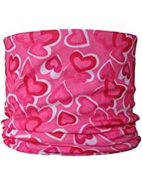 Multifunctional Headwear Pink Hearts