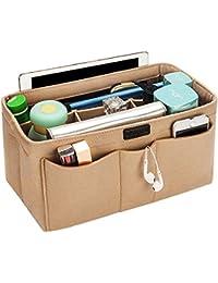 Ropch Felt Handbag Organiser, Bag Organiser Insert Handbag Purse Organiser Bag in Bag Handbag Liner Tote Organiser Bag Pouch