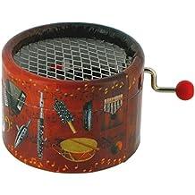 Boîte à musique à manivelle en carton renforcé - Thème de Tapion - Dragon ball Z