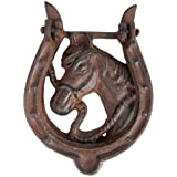 Door Knocker Horse by Esschert Design