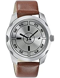 Fastrack Casual Analog Silver Dial Men's Watch-NK3123SL02