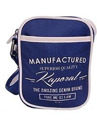 Kaporal - Sacoche bandoulière pochette Agnel bleue 2016