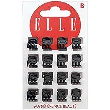 ELLE Pinces Noir Brillant