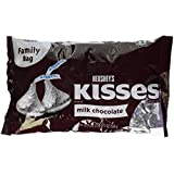 Hershey's Kisses Milk Chocolate Family Bag 559g