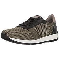 ara Men's Louie Sneaker, Olive Woven, 47 M EU (13 US)
