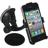 Amzer Support ventouse de pare-brise, console ou tableau de bord pour iPhone 4/4S