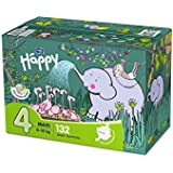 Bella Baby Happy couches Maxi Taille 4(8–18kg), 132Pièces