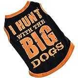 Sannysis Mascotas chaleco para perros ropa para perros pequeños (XS)