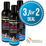 3 For 2 Deal - 14 Day Dog Shampoo, Fur Protector and Conditioner, New Long-Lasting Anti-Bacterial Formula, Water-Based, 100% Safe - 3 x 250 ml by