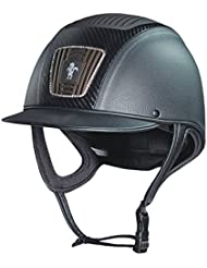 Caldene Ultra Plus Bombe d'équitation pas015–Noir, Taille 61