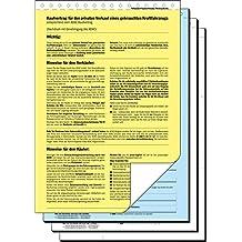 Suchergebnis Auf Amazonde Für Kaufvertrag Vordruck Bürobedarf