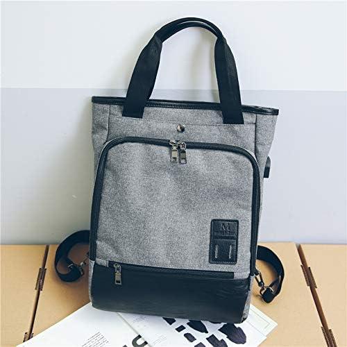 YZBB Amanti borsa da     uomo invernale USB nuova borsa interfaccia bambina versione giapponese e coreana di zaino per il tempo libero, grigio B07H3ZHQX6 Parent | Aspetto estetico  | Più economico  | Colore molto buono  94b91e