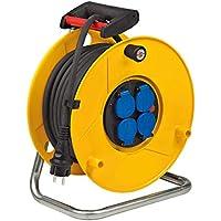 Brennenstuhl 1206941 Enrouleur de câble électrique Standard Pro IP44 25 m H07RN-F 3G2,5