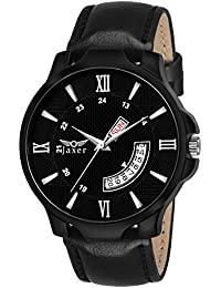 Jaxer Day And Date Black Dial Analog Watch For Men& Boys - JXRM2101