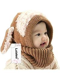 Bonnet Bébé, Bonnet Echarpe Set, Bonnet Hiver pour Bébé, Bébé Unisex Bonnet  Chapeau Tricoté, Chapeaux tricoté… 78bd7f59dc7