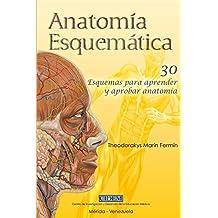 Anatomia Esquematica: 30 esquemas para aprender y aprobar anatomía