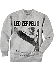 Led zeppelin pour homme performing live sweat-shirt