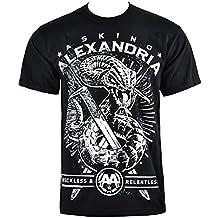 Asking Alexandria Snake T Shirt (Black)