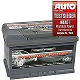 intact Premium Power PP75MF Autobatterie 12V 75Ah Testsieger GTÜ 2014