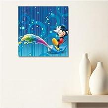 AUX Prix Canons–cuadro lienzo Canvas Disney Mickey Mouse 40x 50cm