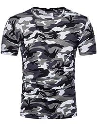 39a9d8d0f Amazon.es  Camiseta Camuflaje - 4108421031  Ropa