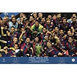 Grupo Erik Editores GPE4925 - Póster FC Barcelona Champions Equipo, 61 x 91,5 cm