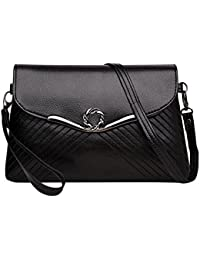 Tomtopp Simple Women PU Handbags Clutch Purse Evening Party Crossbody Shoulder Bags