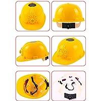 Sombrero Mujer Invierno Elegante ❄ Sonnena Ultimate Solar Powered Sombrero Casco de Seguridad del Ventilador de enfriamiento Tapa Dura de Trabajo Casco de Sombrero