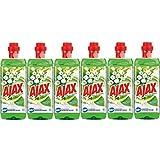 colgate-palmolive Ajax de fleurs du printemps 1,5L, pack de 6x 1,5L)