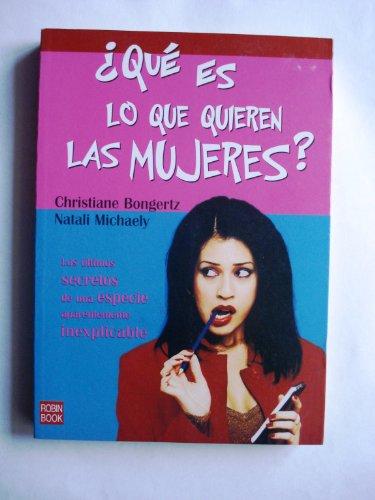 Descargar Libro ¿Que es lo que quieren las mujeres? de Christiane Bongertz