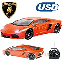 Price comparsion for Official Licensed CM-2130 1:14 Lamborghini Aventador LP700-4 Radio Controlled RC Electric Car - Ready to Run EP RTR