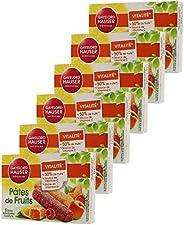 Gayelord Hauser Pâtes de fruits - 125 g - Lot de 6 x 5 barres individuelles