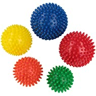 BB Sport massage balls set pack of 5 spiky balls in different sizes and levels of hardness